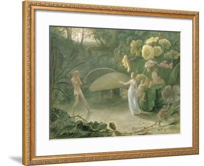 Oberon and Titania, a Midsummer Night's Dream, Act Ii, Scene I, by William Shakespeare (1566-1616)-Francis Danby-Framed Giclee Print