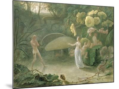 Oberon and Titania, a Midsummer Night's Dream, Act Ii, Scene I, by William Shakespeare (1566-1616)-Francis Danby-Mounted Giclee Print