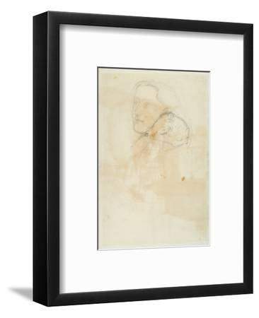 Accepted, 1853 (Pen and Brown Ink on Wove Paper)-John Everett Millais-Framed Premium Giclee Print