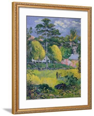 Landscape, 1901-Paul Gauguin-Framed Giclee Print