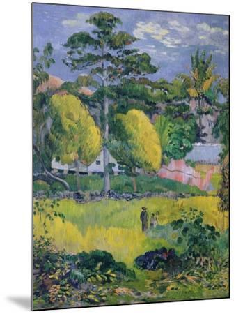 Landscape, 1901-Paul Gauguin-Mounted Giclee Print