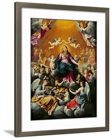 Coronation of the Virgin-Guido Reni-Framed Giclee Print