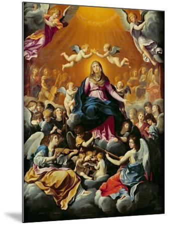 Coronation of the Virgin-Guido Reni-Mounted Giclee Print