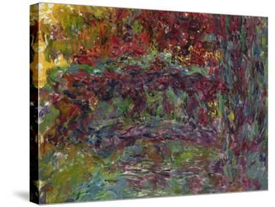 The Japanese Bridge at Giverny, 1918-24-Claude Monet-Stretched Canvas Print