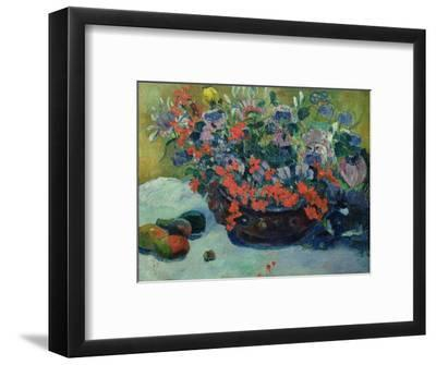 Bouquet of Flowers, 1897-Paul Gauguin-Framed Premium Giclee Print