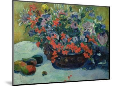 Bouquet of Flowers, 1897-Paul Gauguin-Mounted Premium Giclee Print