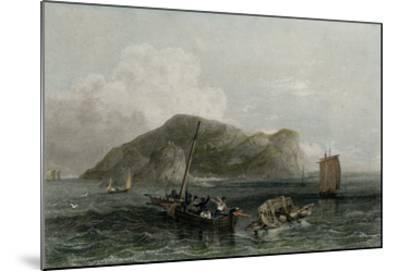 Terceira, Engraved by Edward Finden (Engraving)-Henry Warren-Mounted Giclee Print