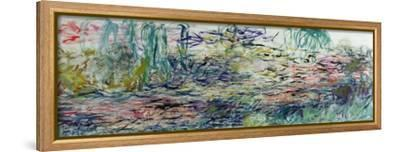 Waterlilies, 1917-19-Claude Monet-Framed Stretched Canvas Print