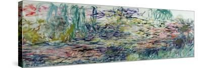 Waterlilies, 1917-19-Claude Monet-Stretched Canvas Print