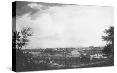View of Bayonne Seen from Halfway Down the Citadel, 1761-Claude Joseph Vernet-Stretched Canvas Print