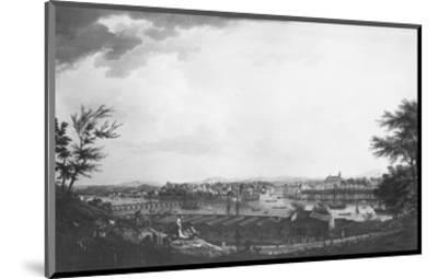 View of Bayonne Seen from Halfway Down the Citadel, 1761-Claude Joseph Vernet-Mounted Premium Giclee Print