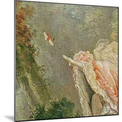 The Swing (Detail)-Jean-Honor? Fragonard-Mounted Giclee Print
