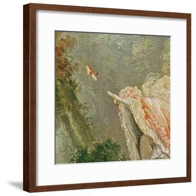 The Swing (Detail)-Jean-Honor? Fragonard-Framed Giclee Print