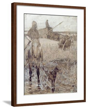 Agriculture, 1892-Fernand Cormon-Framed Giclee Print