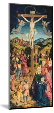 Christ on the Cross (Oil on Panel)-Goossen Weyden-Mounted Giclee Print