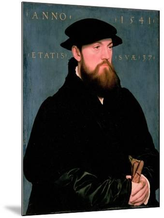 De Vos Van Steenwijk-Hans Holbein the Younger-Mounted Giclee Print