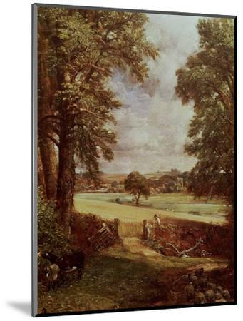 The Cornfield, Detail of the Harvester, 1826-John Constable-Mounted Premium Giclee Print