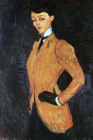 The Amazon, 1909-Amedeo Modigliani-Stretched Canvas Print