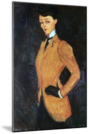 The Amazon, 1909-Amedeo Modigliani-Mounted Giclee Print