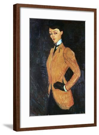 The Amazon, 1909-Amedeo Modigliani-Framed Giclee Print
