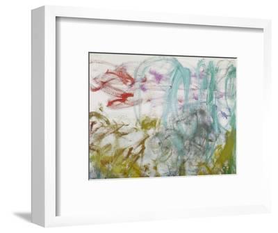 Waterlilies, 1917-19 (Detail)-Claude Monet-Framed Premium Giclee Print
