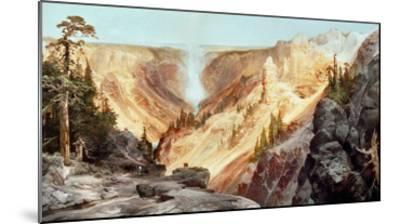 The Grand Canyon of the Yellowstone, 1872-Thomas Moran-Mounted Giclee Print