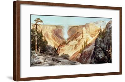 The Grand Canyon of the Yellowstone, 1872-Thomas Moran-Framed Giclee Print
