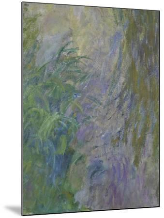 Waterlilies (Detail)-Claude Monet-Mounted Giclee Print