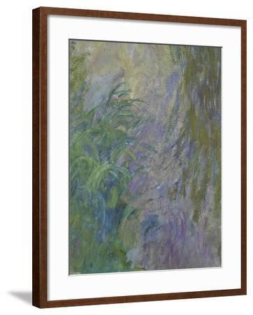 Waterlilies (Detail)-Claude Monet-Framed Giclee Print