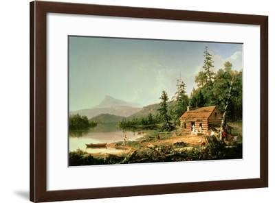 Home in the Woods, 1847-Thomas Cole-Framed Giclee Print