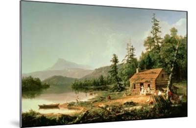Home in the Woods, 1847-Thomas Cole-Mounted Giclee Print