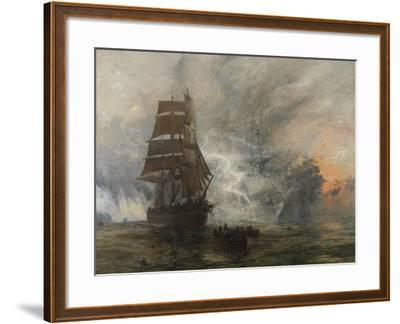 The Phantom Ship-William Lionel Wyllie-Framed Giclee Print