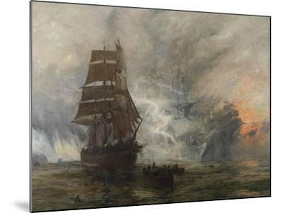 The Phantom Ship-William Lionel Wyllie-Mounted Giclee Print