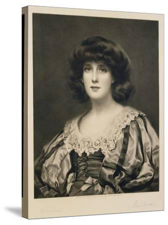 Lorna Doone, Engraved by Fred Miller (Fl.1886-1915) Pub. by Robert Dunthorne, 1892 (Mezzotint)-William Clarke Wontner-Stretched Canvas Print