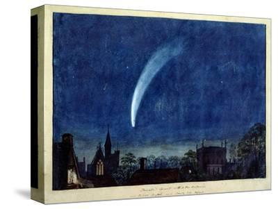 Donati's Comet, 1858 (W/C on Paper)-J^ M^ W^ Turner-Stretched Canvas Print