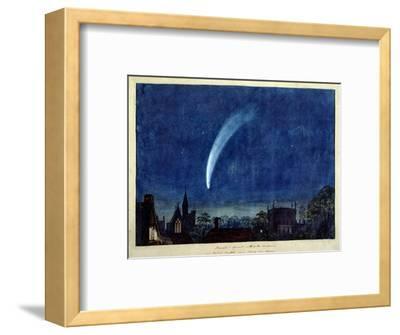 Donati's Comet, 1858 (W/C on Paper)-J^ M^ W^ Turner-Framed Premium Giclee Print