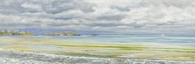 St. Catherine's Isle, 1879-John Brett-Stretched Canvas Print