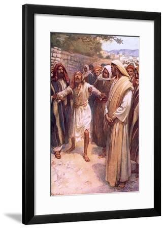 Bartimaeus-Harold Copping-Framed Giclee Print