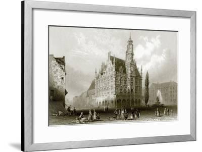 Hotel De Ville-English-Framed Giclee Print