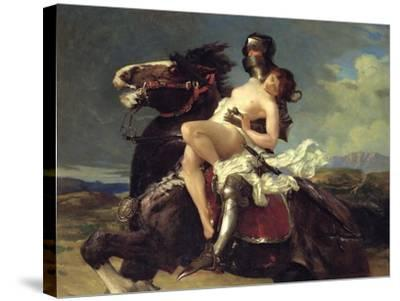 The Rescue-Vereker Monteith Hamilton-Stretched Canvas Print