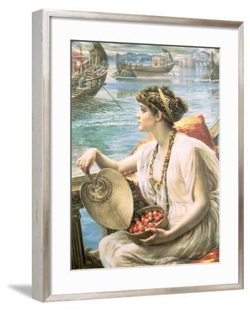 A Roman Boat Race-Edward John Poynter-Framed Giclee Print