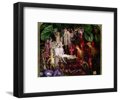 The Fairy's Funeral-John Anster Fitzgerald-Framed Premium Giclee Print