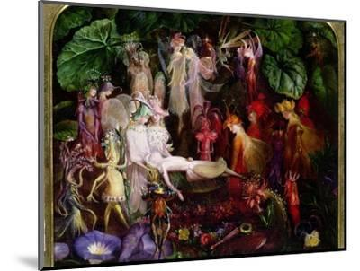 The Fairy's Funeral-John Anster Fitzgerald-Mounted Premium Giclee Print