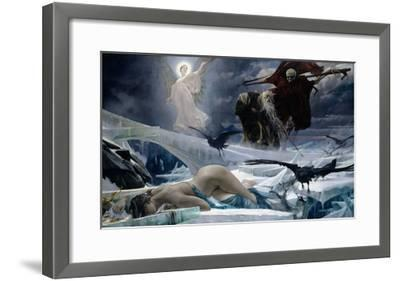Ahasuerus at the End of the World-Adolph Hiremy-Hirschl-Framed Giclee Print