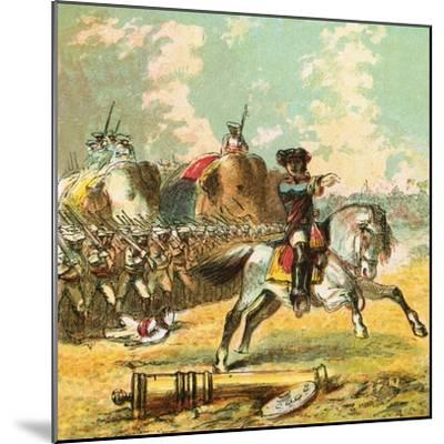 Clive's Victories in India-English-Mounted Giclee Print