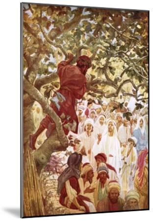 Jesus Summoning Zacchaeus the Publican to Entertain Him at His House-William Brassey Hole-Mounted Giclee Print