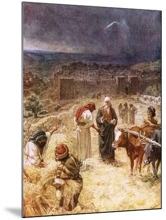 King David Purchasing the Threshing Floor-William Brassey Hole-Mounted Giclee Print