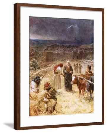 King David Purchasing the Threshing Floor-William Brassey Hole-Framed Giclee Print