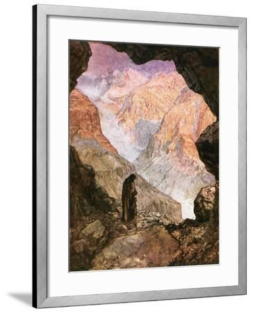 Elijah in the Desert of Horeb-William Brassey Hole-Framed Giclee Print