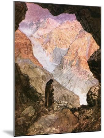 Elijah in the Desert of Horeb-William Brassey Hole-Mounted Giclee Print